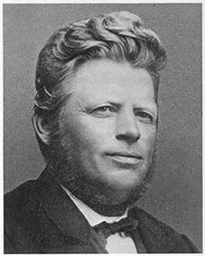 Gårdejer, sognerådsformand, folketingsmedlem, Peder Hansen, Bregnerød